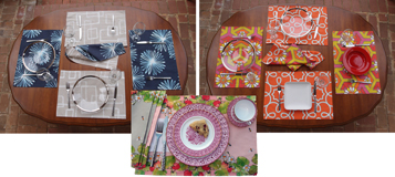 Five Reversible Place Mats