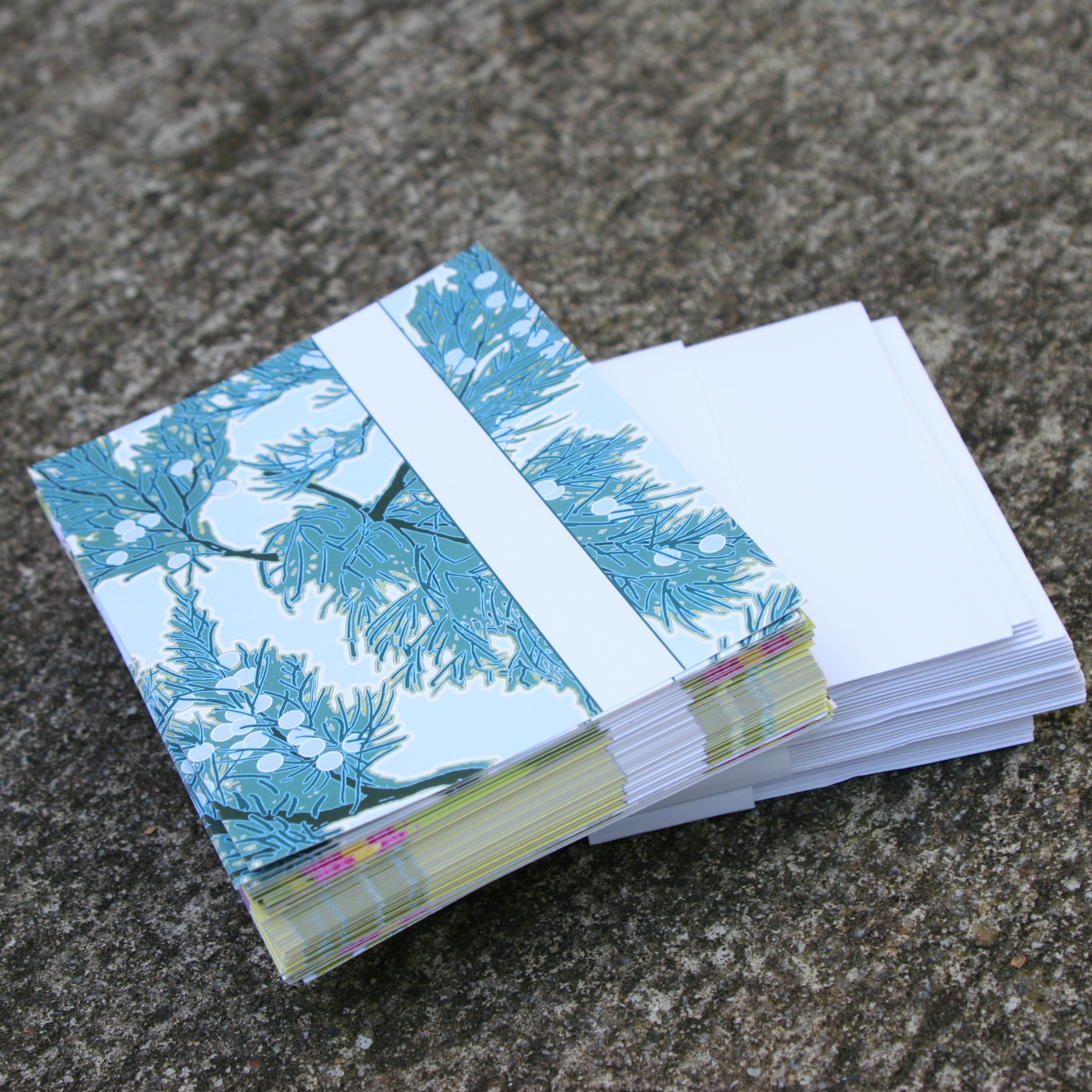 Stack of Blank Note Cards Designed By Ann Tuck