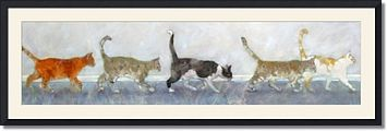 Cat Herd by Ann Tuck